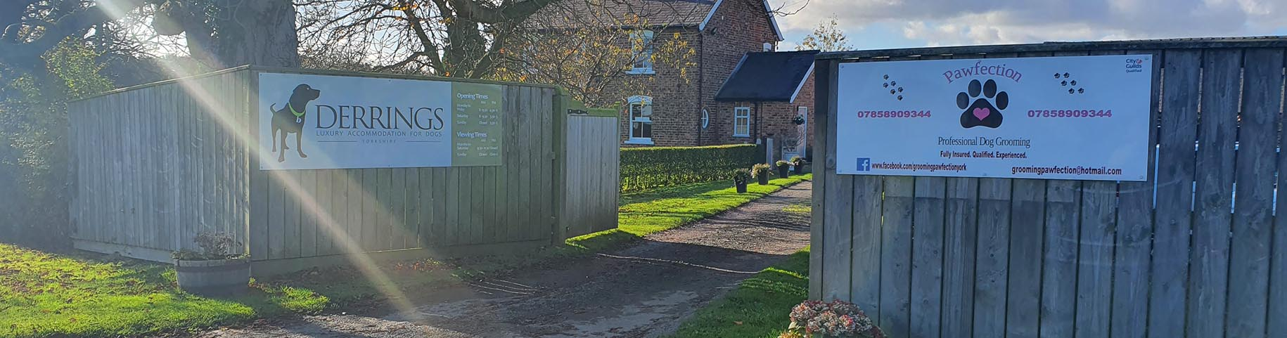 Derrings Boarding Kennels, nr Harrogate, North Yorkshire